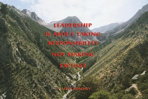 Leadership - Mitt Romney