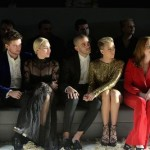 Tom Ford Fashion show Celebrity front row photo: Getty Images