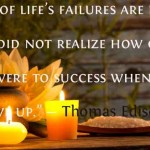 Don't Fret: Success typically comes from Failure and Resiliency