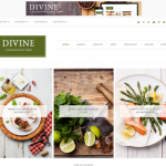 Divine Theme – Genesis WordPress Theme Review – Great Food Theme and More
