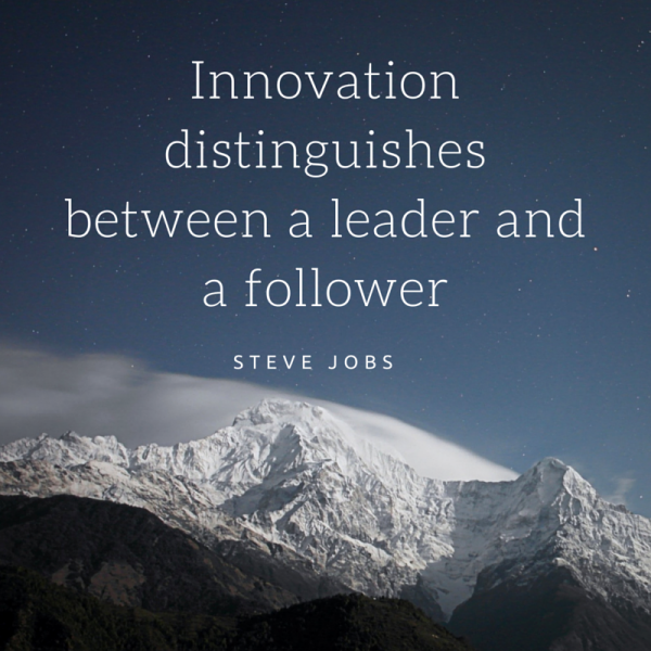 Steve Jobs - Quote - Innovation